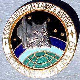 Laika - Commemorative Pin