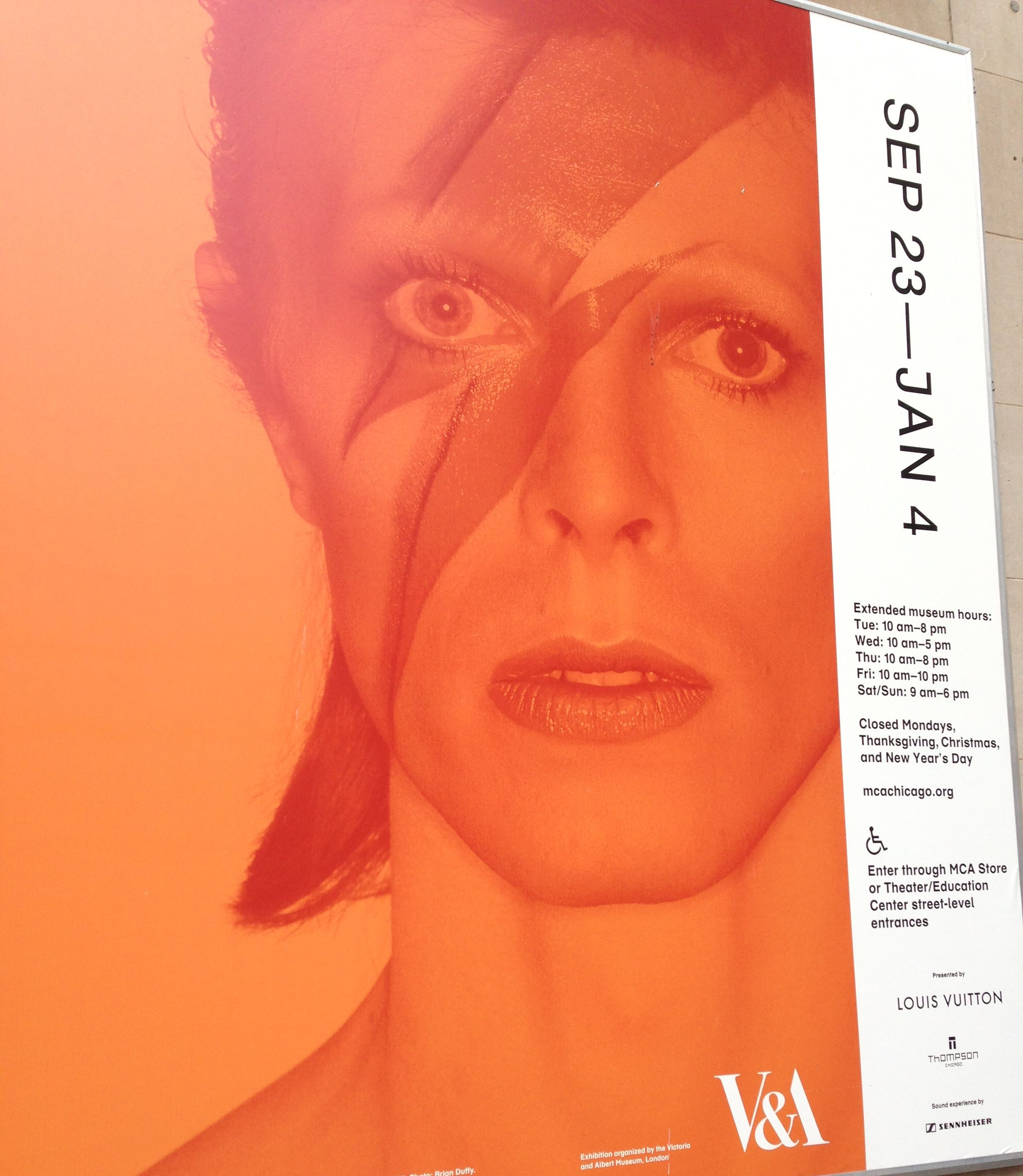 David Bowie Is Museum of Contemporary Art, November 2014